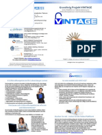 VINTAGE brochure, German