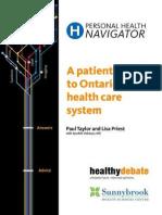 Personal Health Navigator