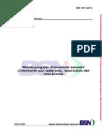 SNI 7577-2010 Metode Pengujian Enterobacter Sakazakii (Cronobacter Spp) Pada Susu, Susu Bubuk, Dan Susu Formula