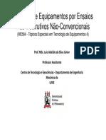 AULAS 01 a 03 - Inspeção de Equipamentos Por Ensaios Não-Destrutivos Não-Convencionais