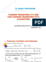 C6-Discrete Time Fourier (DFT) and Fast Fourier Transform (FFT)
