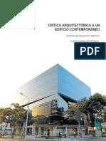 Critica Arquitectonica a Un Edificio Contemporaneo Centro de Negocios Umayuq
