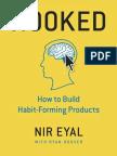 Hooked by Nir Eyal Summary