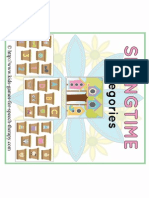 Categories in Springtime Print Able Activity Freebie