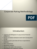 Corporate Ratings and there effects