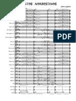 Cantos Nordestinos - Full Score