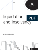 UK Companies House Liquidation Guidance Publication 08 of 2006 Proves No STILAS Impropriety