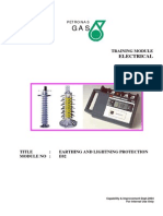 Module No E02 Earthing and Lightning Protection