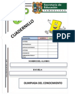 Cuadernillo de Olimpiada Del Conocimiento Prof Armando Crisanto