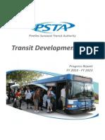 PSTA Progress Report, FY 2014