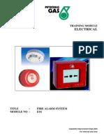 Module No E16 Fire Alarm System