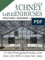 Merchney Greenhouses 2015 Catalog