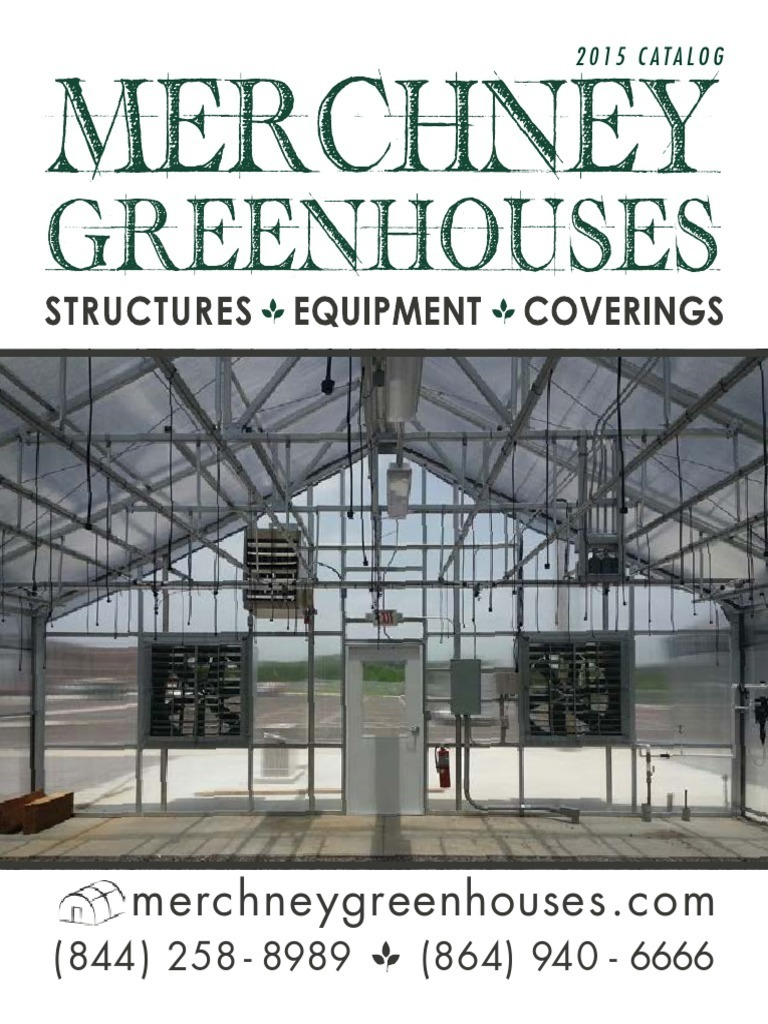 Merchney Greenhouses 2015 Catalog Hvac Mechanical Fan Trane Model 4tta3060 Wiring Diagram