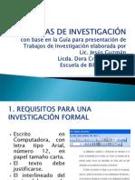 Tecnicas de Investigacion III.