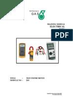 Module No E03 Electrical Test Equipment Basic