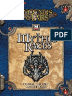 Dungeons&Dragons 3.5 Legends & Lairs Mythic Races