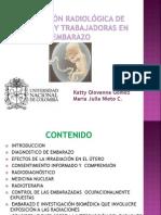Protección Radiológica de Pacientes y Trabajadoras en Embarazo