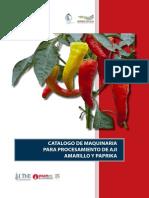 Maquinaria Para Ají Amarillo y Paprika
