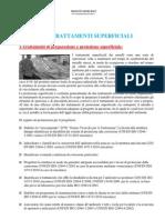 Trattamenti Di Preparazione e Protezione Superficiale Acciaio