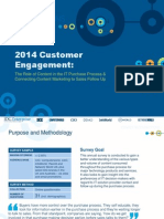 IDG Enterprise's 2014 Customer Engagement Research
