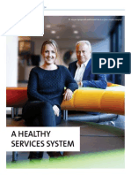 A healthy services system