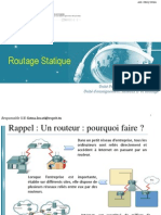 Routage statique