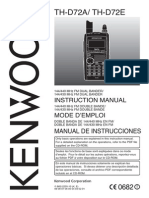 Kenwood TH-D72 Users Manual