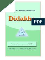 Didakhe - November_December 2014