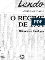 Fiorin (1988) - O Regime de 1964