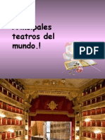 Principales Teatros Del Mundo
