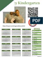 Evans Stone Calendar 2015