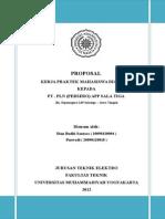Proposal KP gardu induK batang