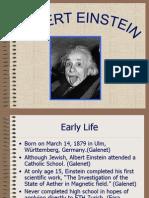 Biografia Einstein
