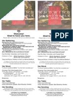 Bulletin for October 19, 2014