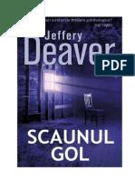 Jeffery Deaver Lincoln Rhymes 3 Scaunul Gol