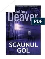Jeffery Deaver Lincoln Rhymes 3 Scaunul Gol