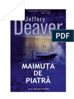 Jeffery Deaver Lincoln Rhymes 4 Maimuta de Piatra