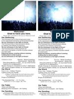 Bulletin for December 14, 2014