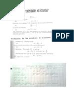 Resumenes de Ecuaciones Diferenciales