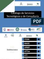 Catálogo de Servicios Tecnológicos y de Consultoría