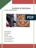 ancient symbols in barbados sten term paper
