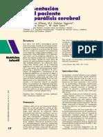 Alimentacion en El Paciente Con Paralisis Cerebral - Moreno y Otros - Articulo