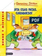 !Quita Esas Patas, Caraqueso! - Geronimo Stilton