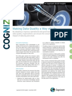 Making Data Quality a Way of Life