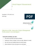 phineo presentation