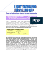 Why Are Equity Mutual Fund Investors Selling Out?-VRK100-11012010