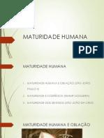 Maturidade Humana