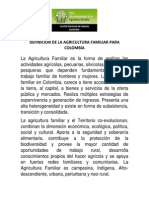 Agricultura Familiar Para PND