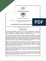 Resolución CRC 4639 de 2014