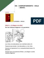 SOCIALIZACIÓN - HOLA Y ADIOS